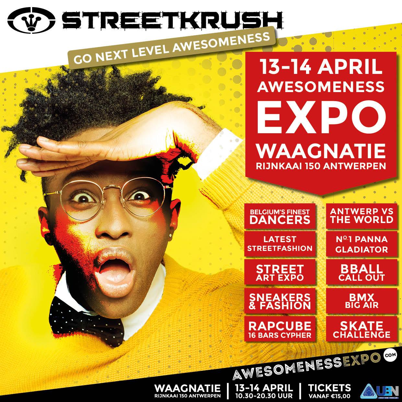 Awesomeness Expo in Waagnatie Antwerp